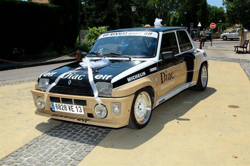 Restauration peinture d 39 une renault 5 turbo 2 garage automobile meyreuil 13 garage de la - Garage restauration voiture ...